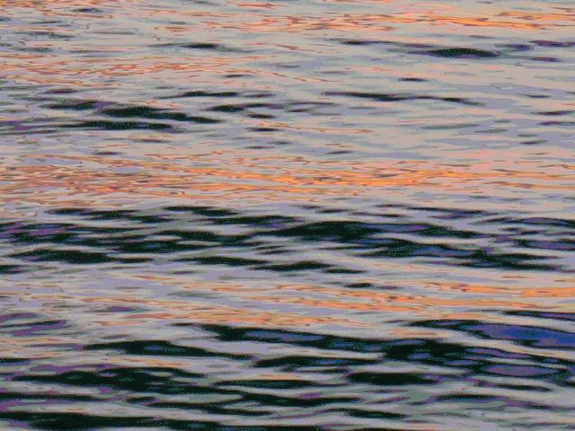 Sunset In Water